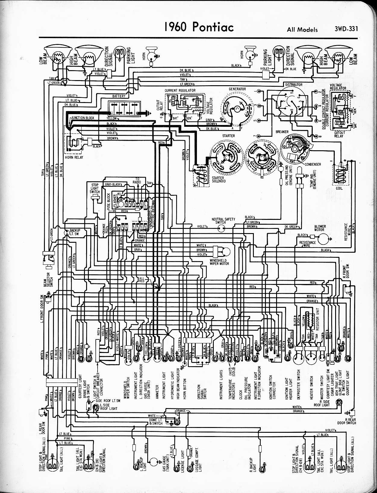 Pontiac Bonneville Alternator Wiring Diagram - Wiring Diagram