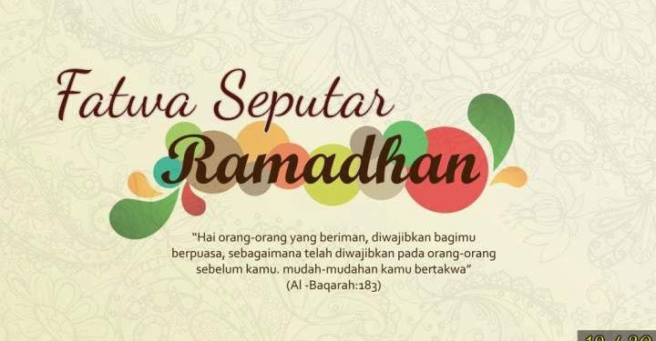 Ustadz Abdul Somad - 30 Fatwa Seputar Ramadhan, #12 Hukum Kumur-Kumur Saat Puasa