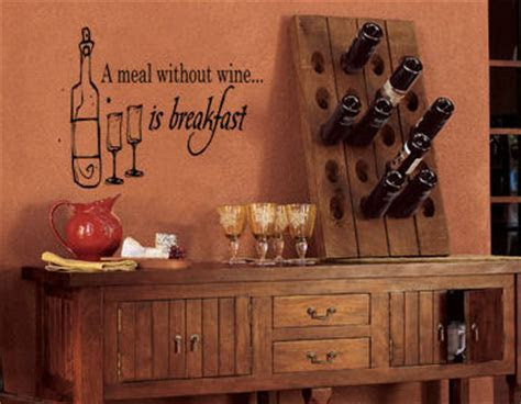 Meal Without Wine   Wall Decals   Trading Phrases