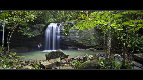 Buderim Falls - Sunshine Coast - by Garry Schlatter