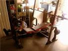 Golds Gym XR5 Weight bench + weights - 502StreetScene