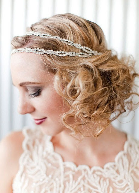 Elegant and Beautiful Bridal Hairstyles for Short Hair  Ohh My My
