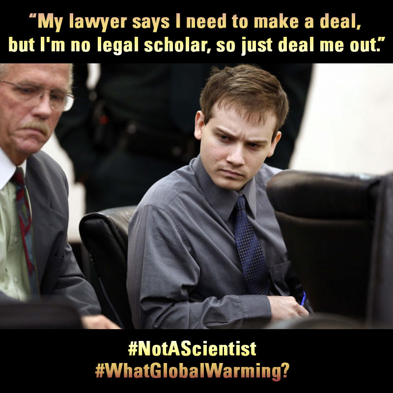 not a scientist - lawyer