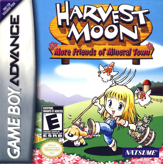 Harvest Moon - More Friends Of Mineral Town Girl