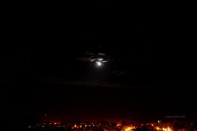 Eclipse de Júpiter por la Luna I