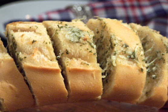 Cheesy Garlic Bread Recipe - Genius Kitchen