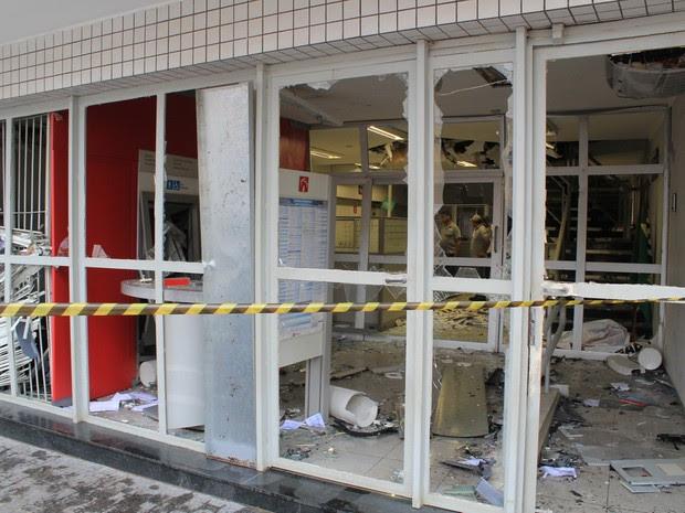 Banco explosão Piracaia (Foto: Rodrigo Martinelli/BIG)