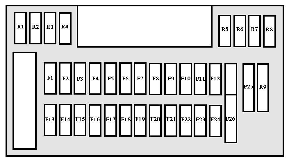 peugeot 607 1999 2004 fuse box diagram auto genius  2004 lexus gx470