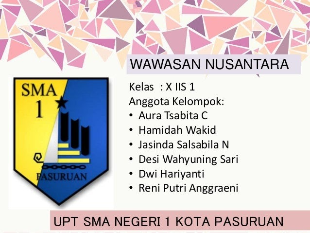 Sebutkan Contoh Implementasi Wawasan Nusantara Dalam ...