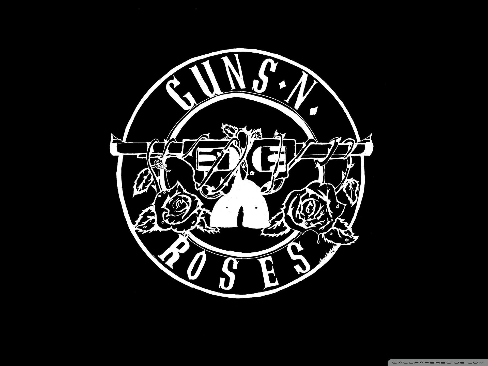 Guns N Roses Logo HD Ultra HD Desktop Background