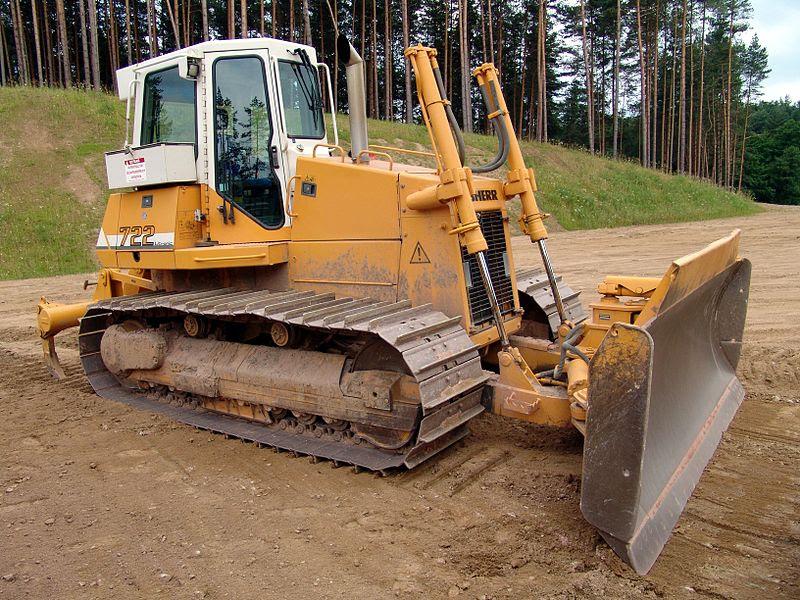 Excavadora Liebherr