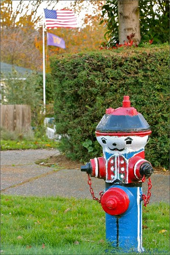 Toy Soldier Hydrant