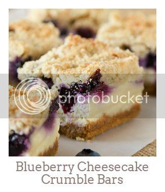 """Blueberry Cheesecake Crumble Bars"""