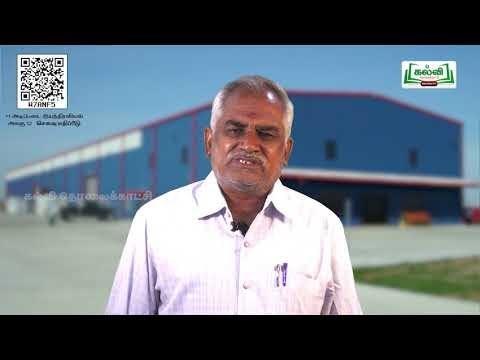 11th Basic mechanics செலவு மதிப்பீடு  அலகு 12  பகுதி1  Kalvi TV