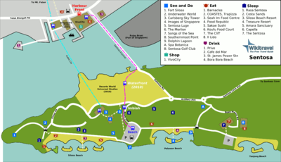 Location Map of Sentosa Island Singapore for Tourists,Sentosa Island Singapore Location Map,Sentosa Island Singapore Accommodation destinations attractions hotels resorts map,Underwater World Songs of the Sea Sentosa Luge & Skyride Sentosa Merlion Images of Singapore Fort Siloso Dolphin Lagoon Tiger Sky Tower Voyage de la Vie Universal Studios Singapore Location Map