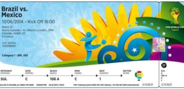 Novo lote incluirá o jogo de abertura da Copa do Mundo, dia 12 de junho, contra a Croácia