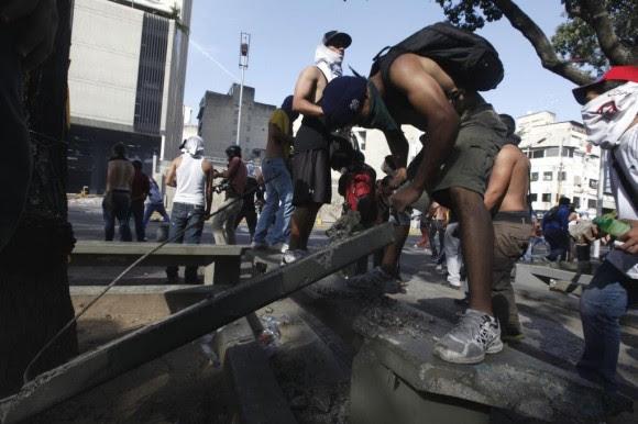 Protestas en Venezuela, 12 de febrero de 2014.