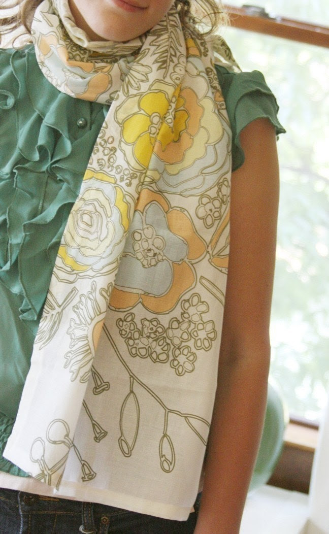Blooms Summer Scarf
