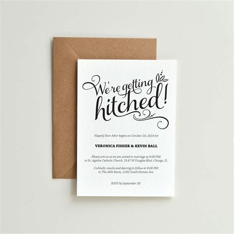 13 Funny Wedding Invitations Perfect for Every Sense of