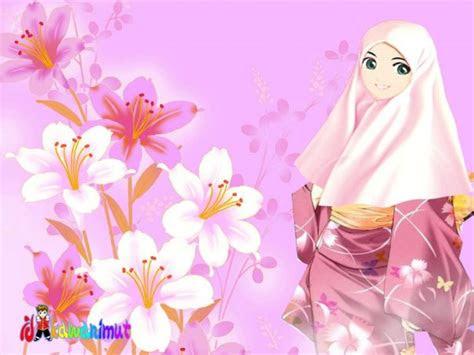 kartun akhwat kimono kartunislam