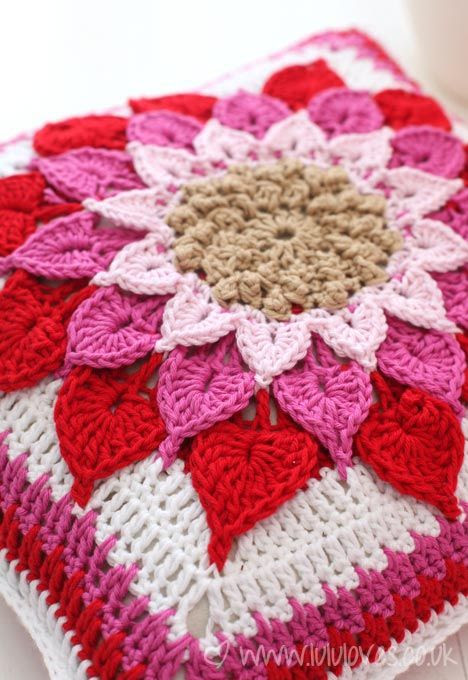 crochet-cushion : how to (link)