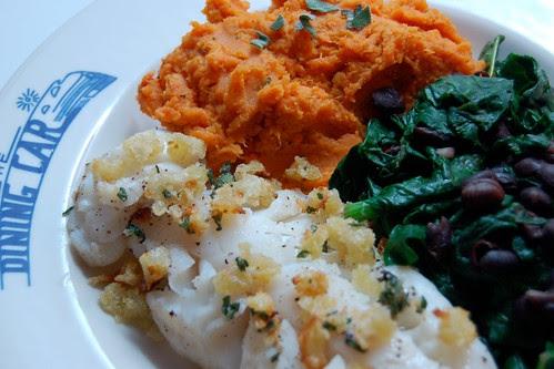 116/365: Fish & 2 veg