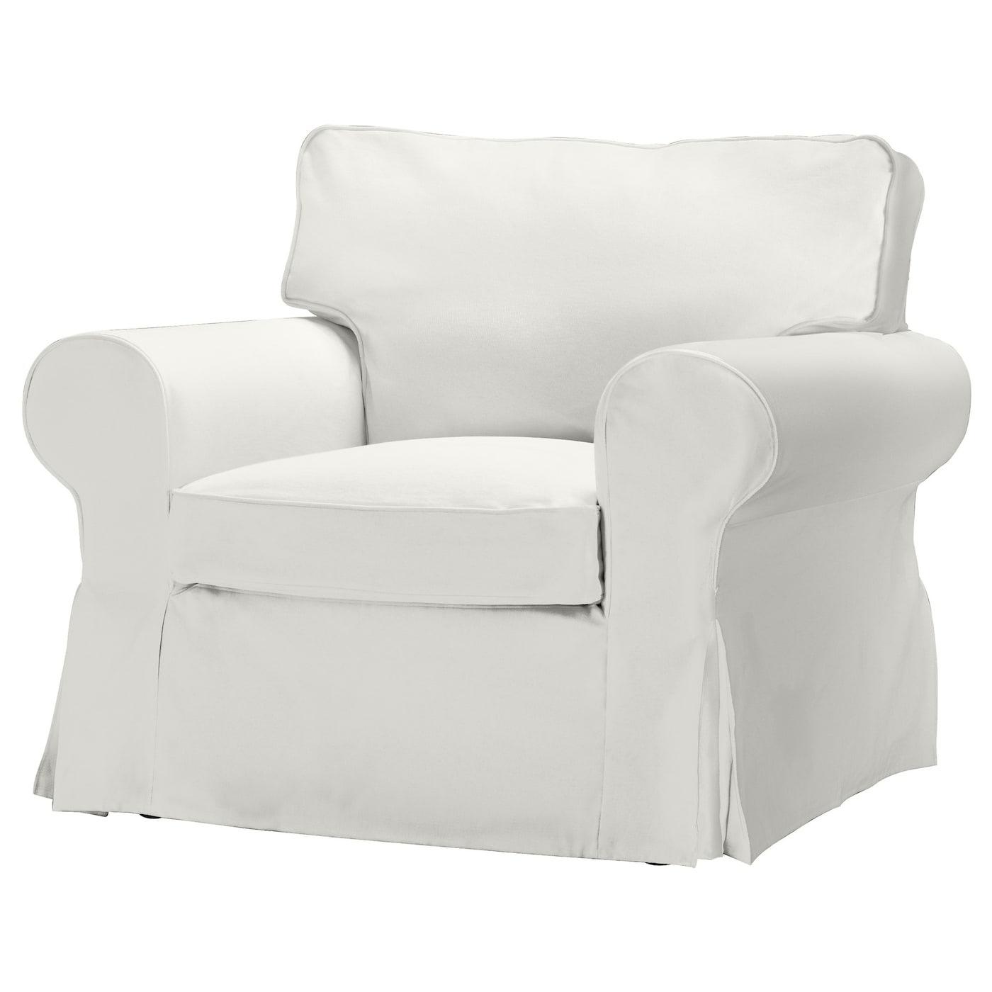 EKTORP Armchair cover Blekinge white - IKEA