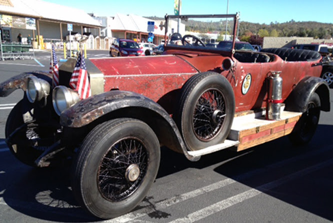 Rolls Royce 40/50, California