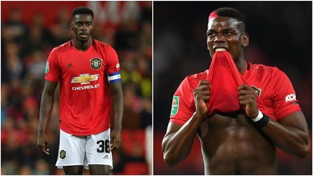 Solskjaer explains decision to give Tuanzebe captain's armband over Pogba