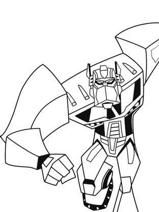 Coloriage Transformers Optimus Prime 8 Coloriage Transformers