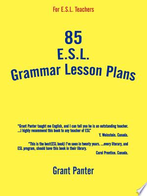Download 85 ESL Grammar Lesson Plans Pdf