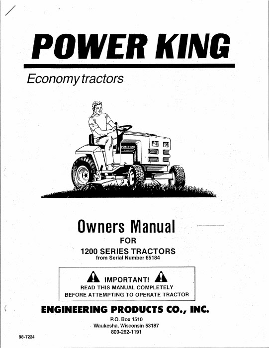 Ford 1200 Tractor Wiring Diagram