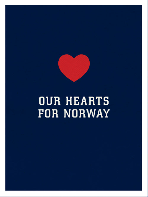 cheerpluslife:  PLEASE REBLOG to show your LOVE AND SUPPORT for Norway and its people in this devastating time. 90 people confirmed dead, and the numbers are rising. Read more here. My name is Ine, I'm Norwegian, live in Norway, and run Cheerpluslife.com here on Tumblr. Thank you all for all your support in these hard times. It is appreciated greatly, please keep on reblogging! Update: This is incredible. 3000+ notes - it means so much, thank you so much for this incredible support shown by people all over the world.  People gathered together to remember those who've passed - Oslo, Norway. Norwegian Prime minister Jens Stoltenberg hugging one of the young men from the political youth camp that was attacked.