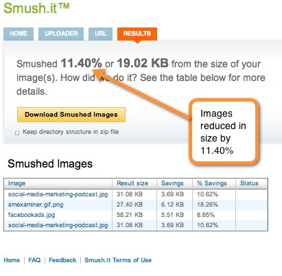 smush it image reducer