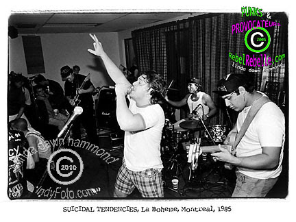 SUICIDAL TENDENCIES 1985
