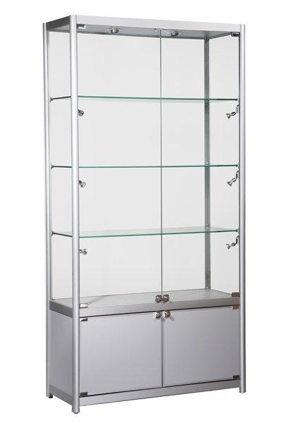 Kdlb-800 Black Aluminium Showcase - Buy Aluminum Display Showcase ...