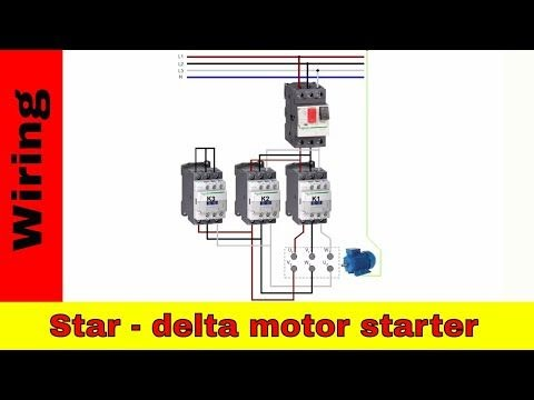 Wiring A Reversing Starter   schematic and wiring diagram