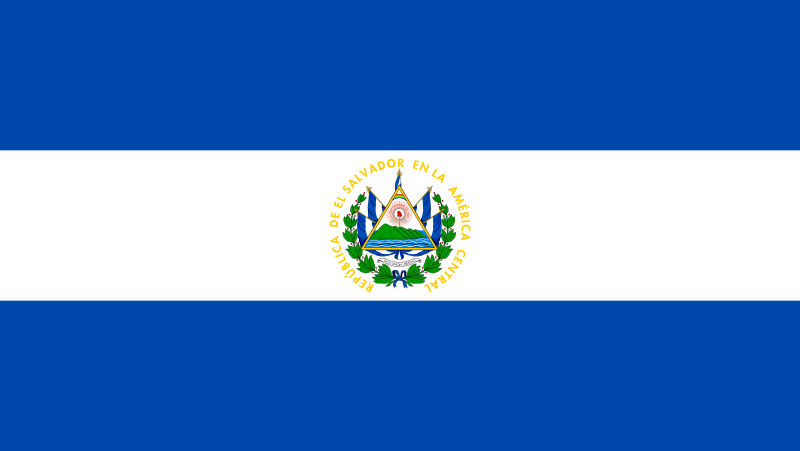 Ficheiro:Flag of El Salvador.svg