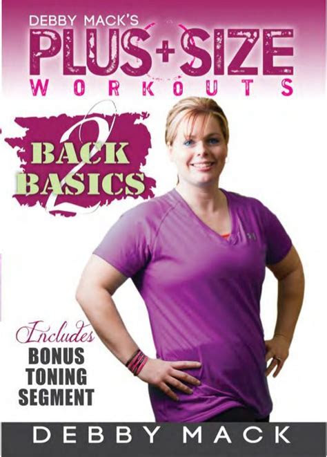 debby mack  size workouts   basics collage video