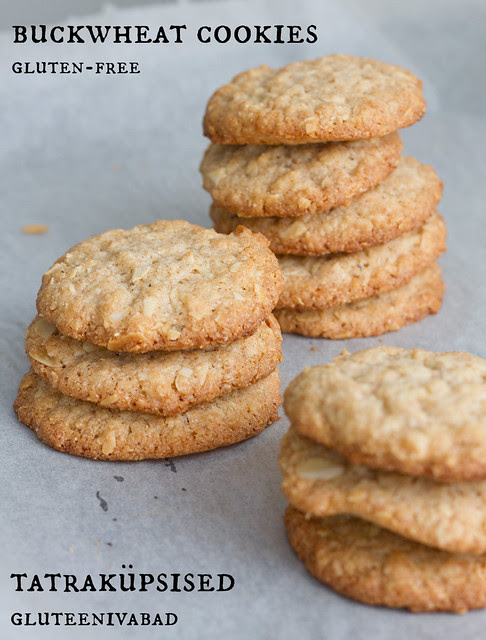 Tatraküpsised. Buckwheat cookies.