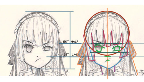 How to draw victorique from gosick