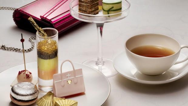 Gastronomía y moda: El té de la tarde diseñado por Jimmy Choo y la cadena Mandarin Oriental