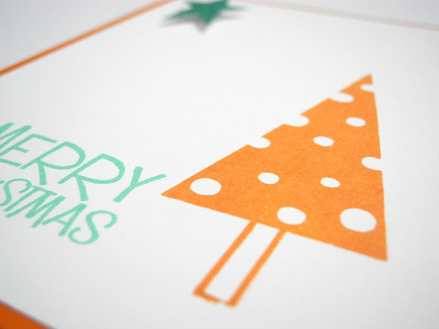 Orange and Mint Christmas (detail)