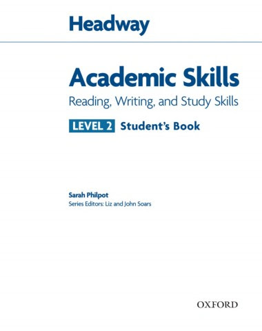 كتاب academic skills محلول