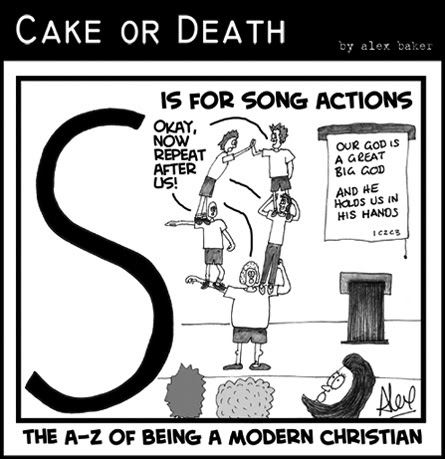 Church Song Actions