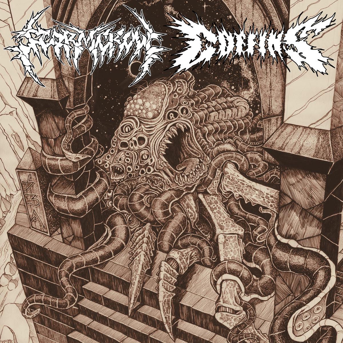 Stormcrow / Coffins - Split (2010)