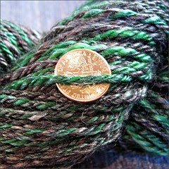 Swamp yarn, close up
