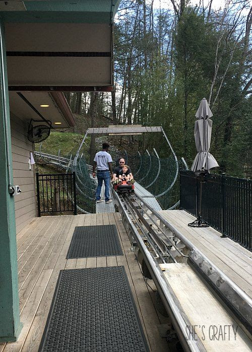 gatlinburg mountain coaster, family activities in gatlinburg