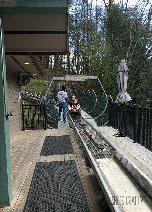 gatlinburg mountain coaster, family activities in gatlinburg