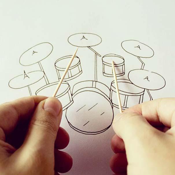 Δίνοντας ζωή σε καθημερινά αντικείμενα με ένα στυλό (12)